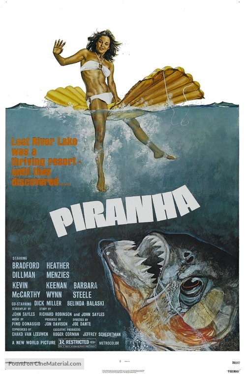 Piranha - Movie Poster