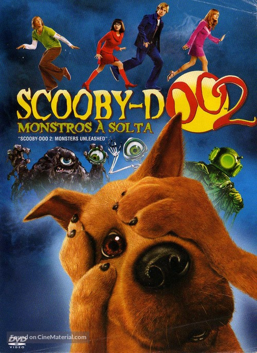 Scooby Doo 2 Monsters Unleashed 2004 Brazilian Movie Cover