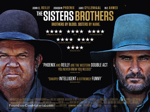 The Sisters Brothers - British Movie Poster