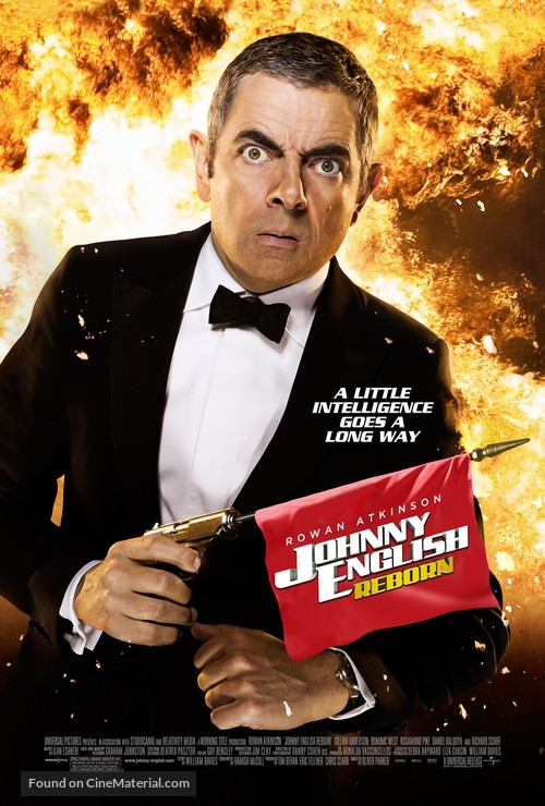 Johnny English Reborn - Theatrical poster