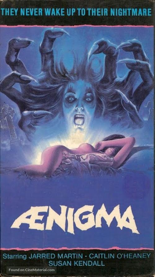 Aenigma - VHS movie cover