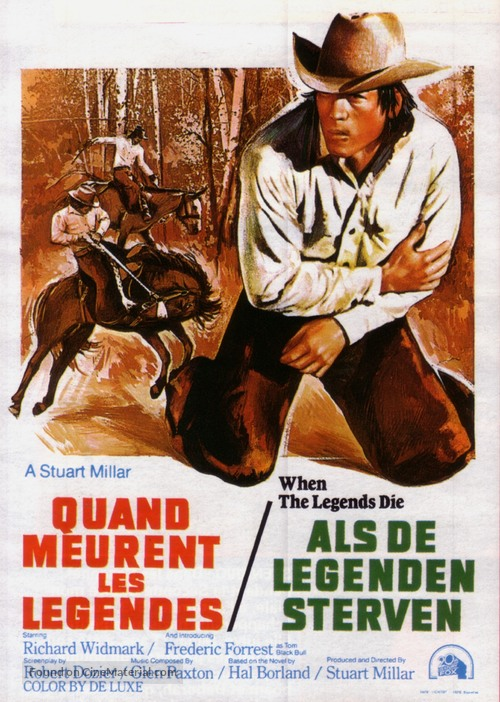 a comparison of the novel by hal borland and the movie by stuart millar when the legends die Directed by stuart millar hal borland (novel), robert dozier title: when the legends die (1972).