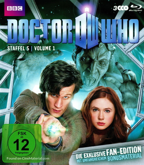 """""""Doctor Who"""" - German Blu-Ray movie cover"""