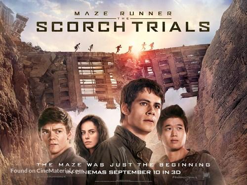 Maze Runner: The Scorch Trials - British Movie Poster