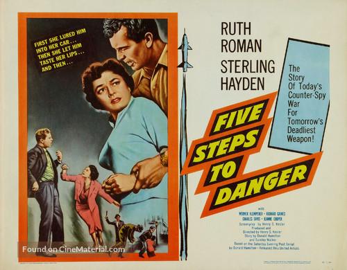 5 Steps to Danger - Movie Poster
