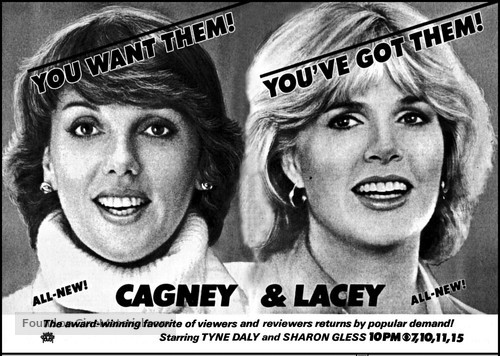 """Cagney & Lacey"" - poster"
