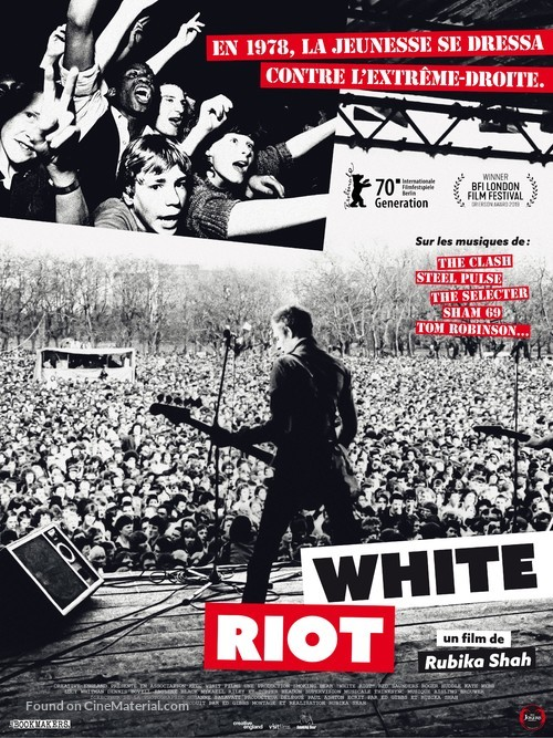 White Riot - French Movie Poster