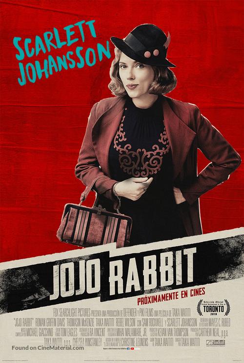 Jojo Rabbit - Argentinian Movie Poster