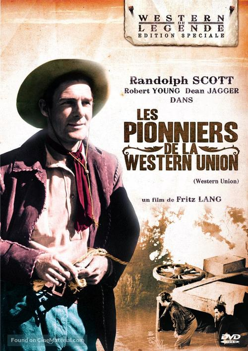 Western Union - French DVD movie cover