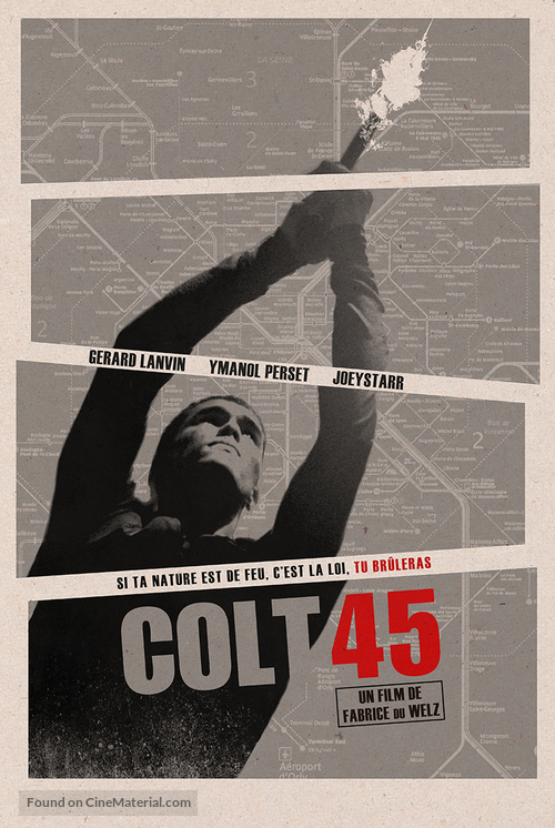 Colt 45 - French Movie Poster