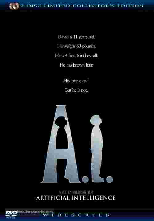 Artificial Intelligence: AI - Movie Cover
