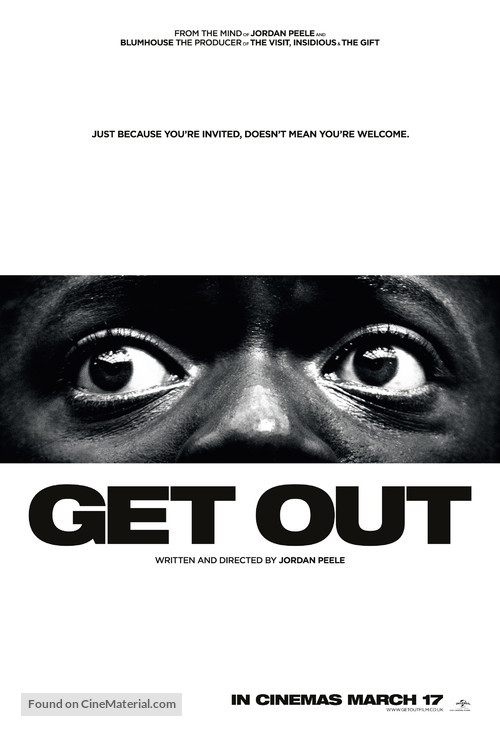 Get Out - British Movie Poster