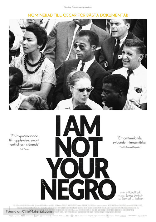 I Am Not Your Negro - Norwegian Movie Poster