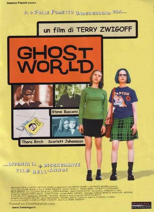 Ghost World - Italian Movie Poster