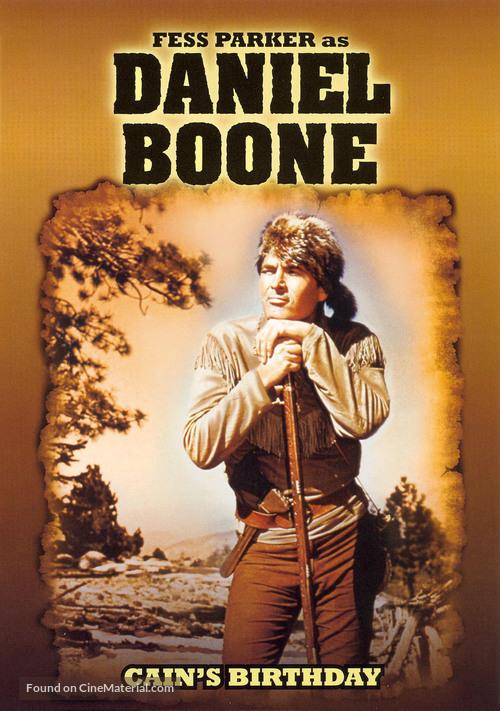 """Daniel Boone"" - DVD movie cover"