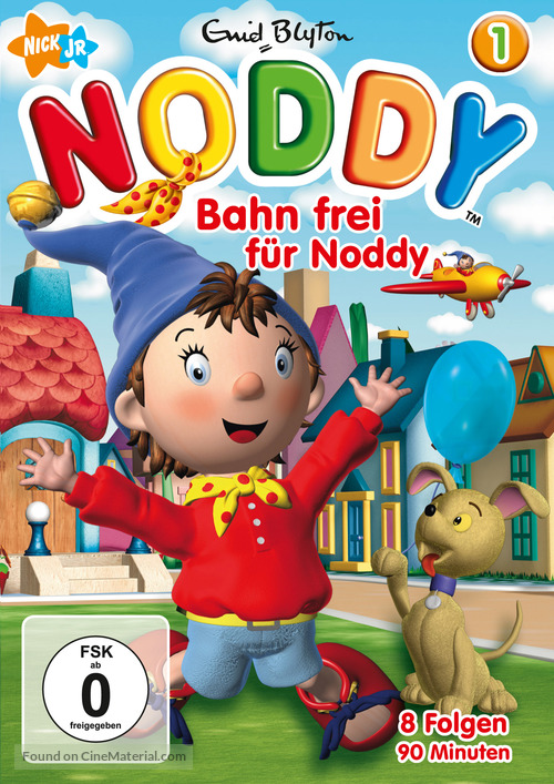 """Make Way for Noddy"" - German DVD movie cover"