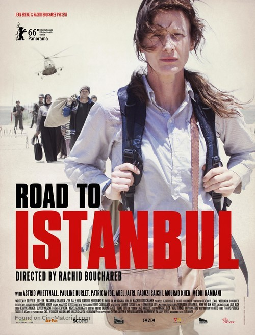 La route d'Istanbul - French Movie Poster