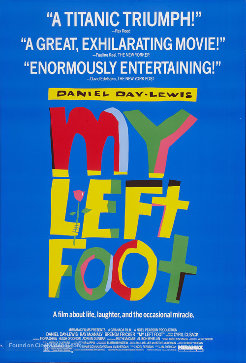 My Left Foot - Movie Poster