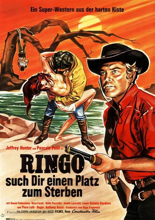 Joe... cercati un posto per morire! - German Movie Poster