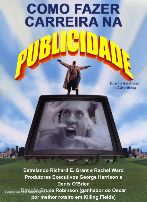 How to Get Ahead in Advertising - Brazilian Movie Poster