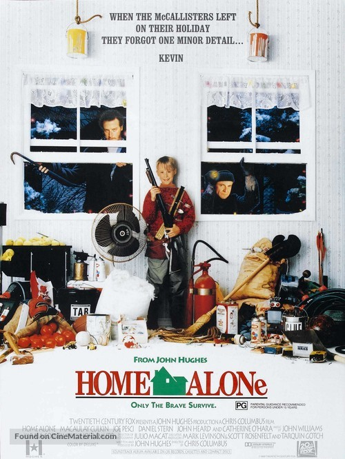 Home Alone - Australian Movie Poster