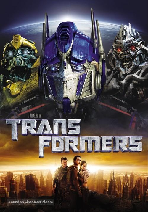 Transformers - DVD movie cover
