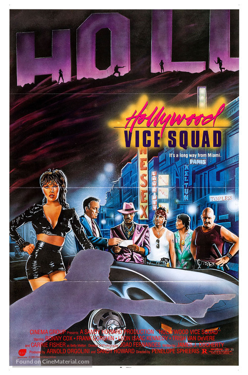 Hollywood Vice Squad - Movie Poster