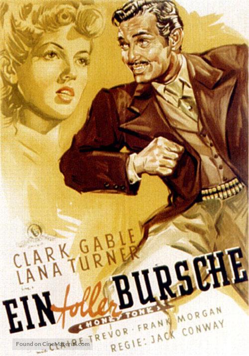 Honky Tonk - German Movie Poster