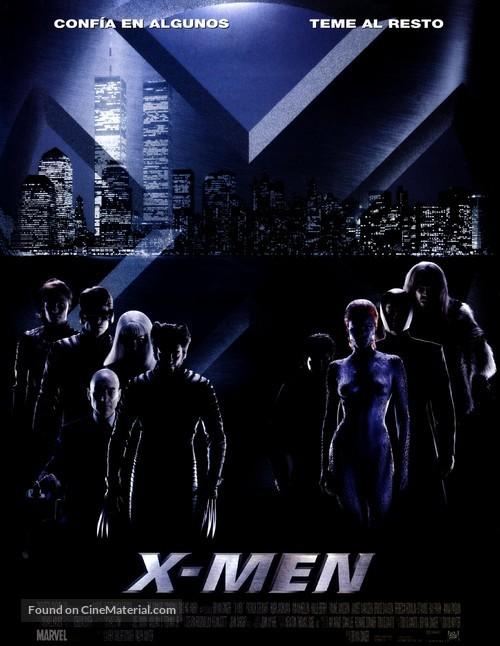 X-Men - Spanish Movie Poster