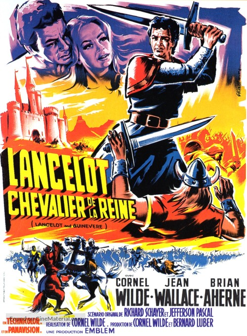 Lancelot and Guinevere - French Movie Poster