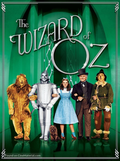 The Wizard of Oz - DVD cover