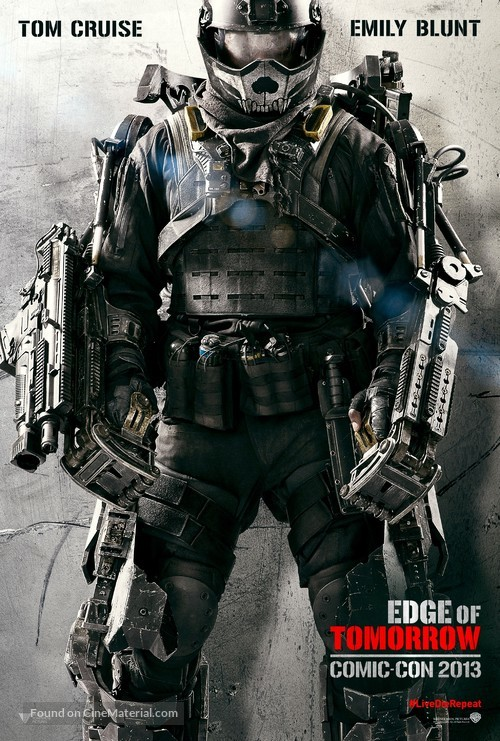 Edge of Tomorrow - Movie Poster