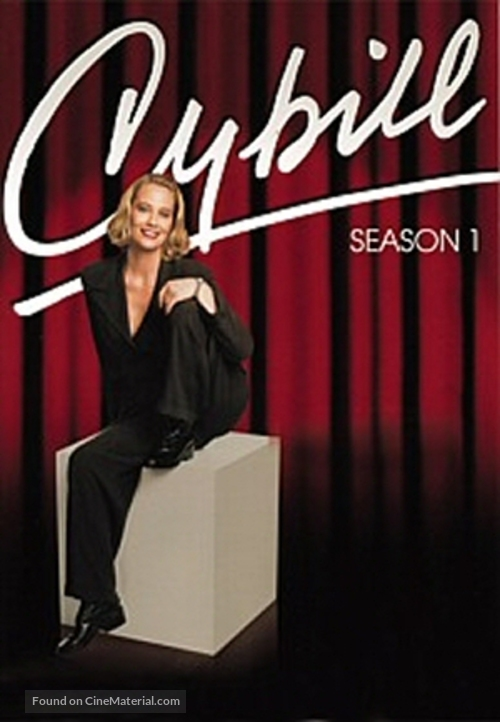 """Cybill"" - DVD movie cover"