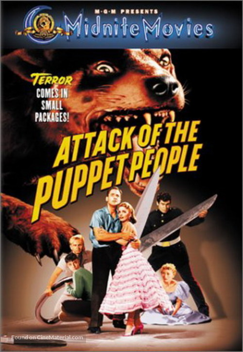 Attack of the Puppet People - DVD movie cover