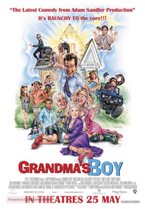 Grandma's Boy - Singaporean poster