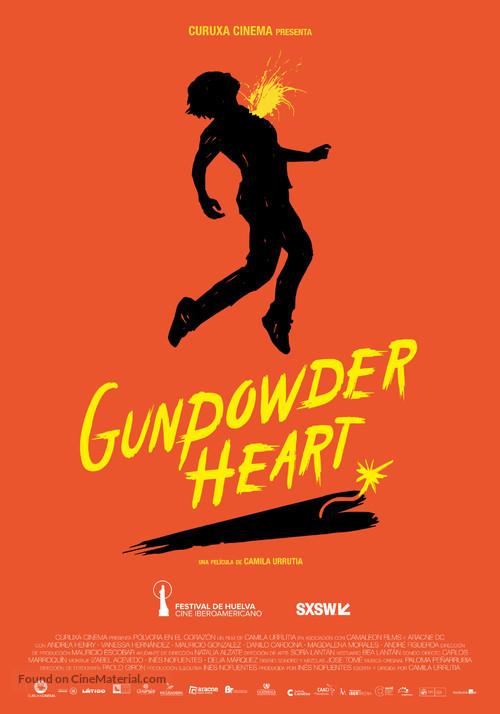 Pólvora en el corazón - International Movie Poster