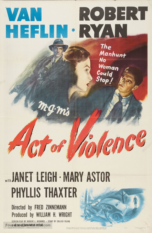 Act of Violence - Movie Poster