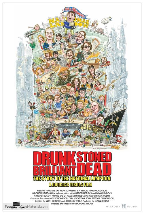 Drunk Stoned Brilliant Dead: The Story of the National Lampoon - Movie Poster