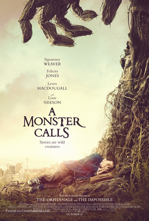 A Monster Calls - Movie Poster