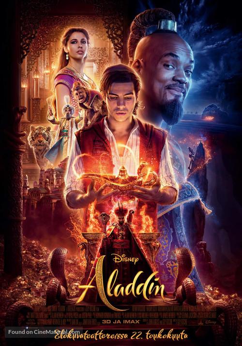 Aladdin - Finnish Movie Poster