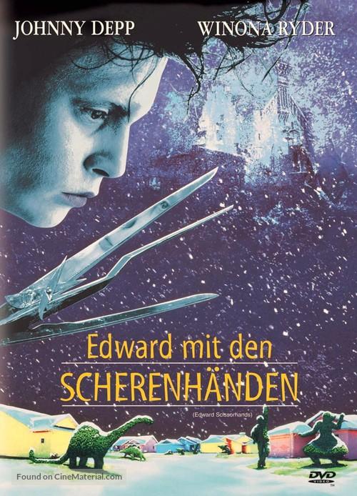 Edward Scissorhands - German Movie Poster