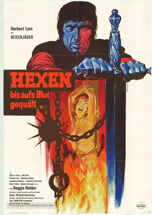 Hexen bis aufs Blut gequält - German Movie Poster