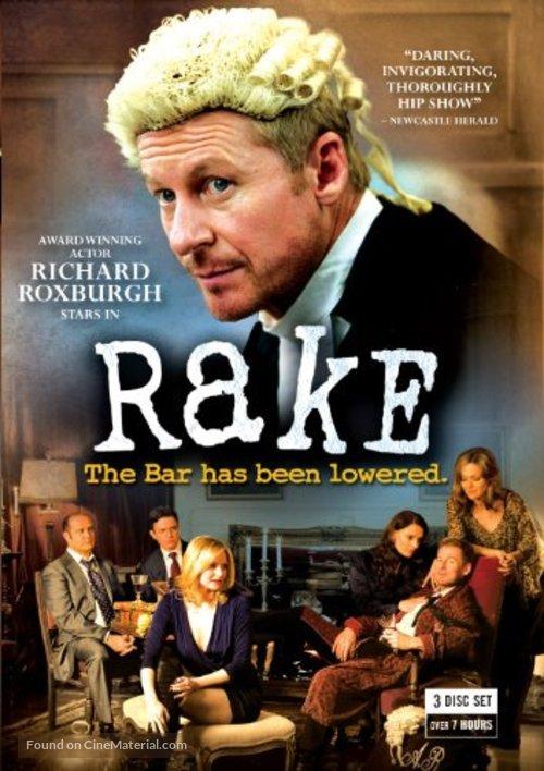 """Rake"" - DVD movie cover"