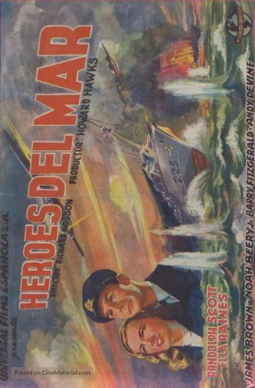 Corvette K-225 - Spanish Movie Poster
