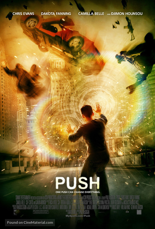 Push - Movie Poster