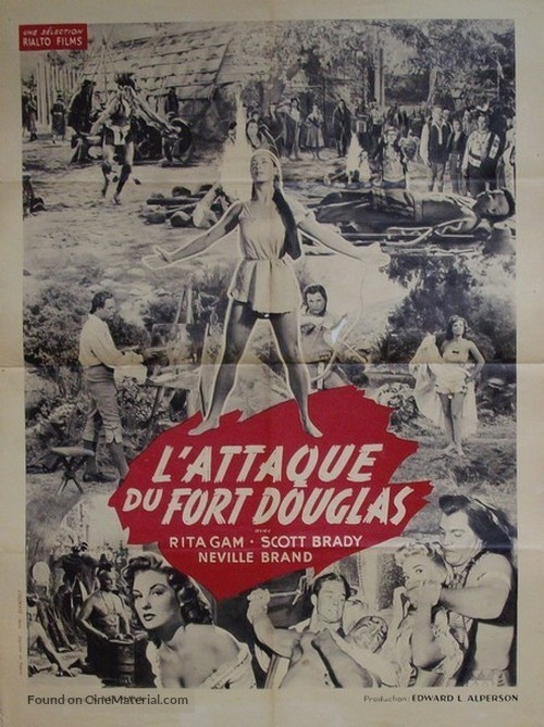 Mohawk - French Movie Poster