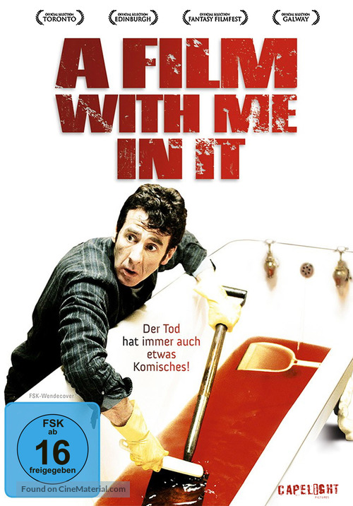 A Film with Me in It - German DVD movie cover