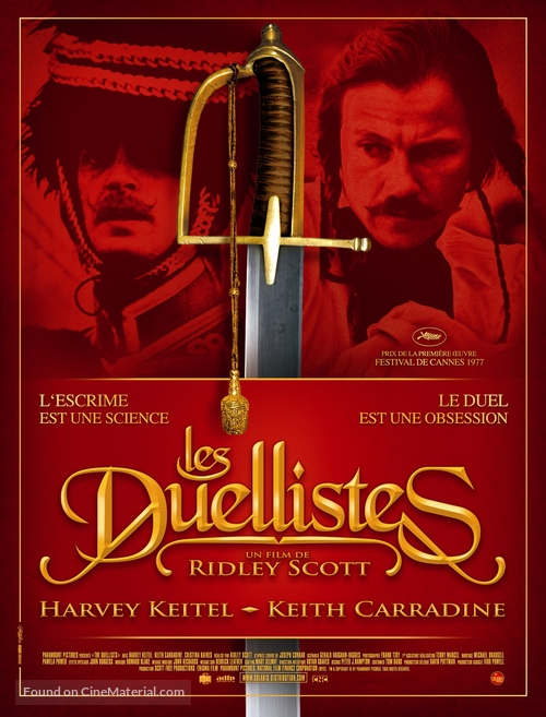 The Duellists - French Movie Poster