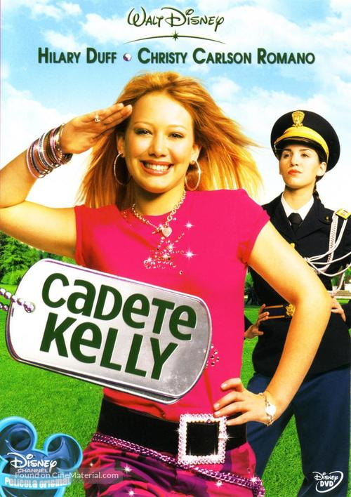 Cadet Kelly - Spanish DVD movie cover