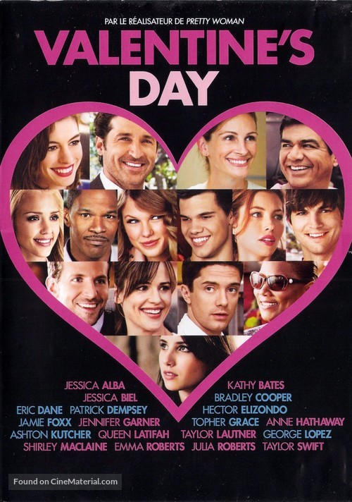 Valentine's Day - French DVD movie cover